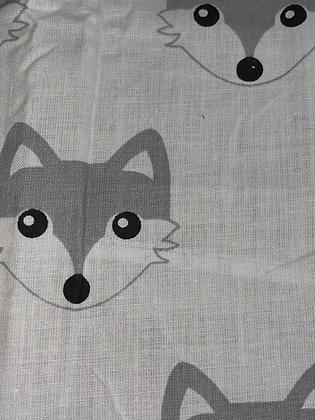SALE Small Bow -White fox