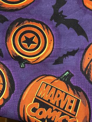"SALE - Marvel halloween small Over collar bandana (1.2"" collar gap)"