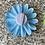 Thumbnail: Purple Flower elastic loop attachment