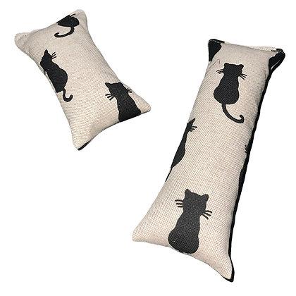 Cat kicker catnip toy - canvas cats
