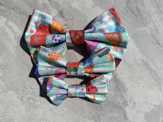 Cool for the summer bow tie