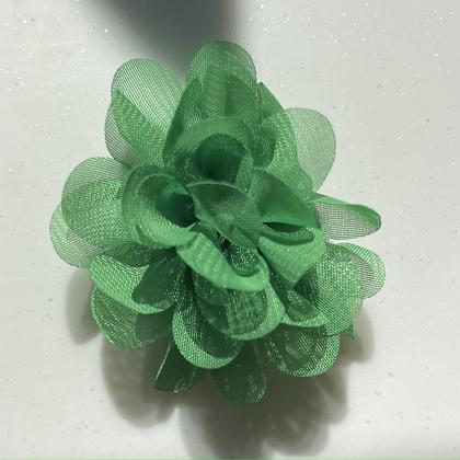 Mini Green Flower elastic loop attachment