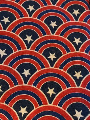 SALE - Captain america medium Over collar bandana