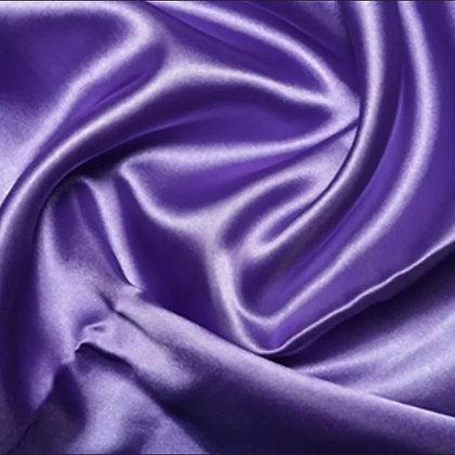 Lavender satin scrunchie