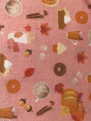 SALE Small Bow - Peach fall