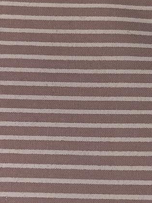 SALE Large Bow - Mink stripe