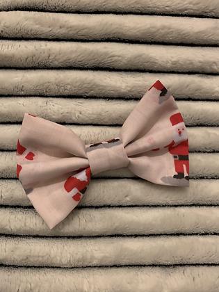 SALE Small Bow - Santa