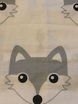 SALE Medium Bow - White fox