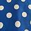 Thumbnail: Large blue spot bow tie
