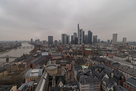 Blick vom Frankfurter Dom