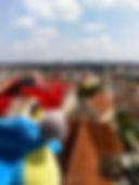 Blu & die Peterskirche