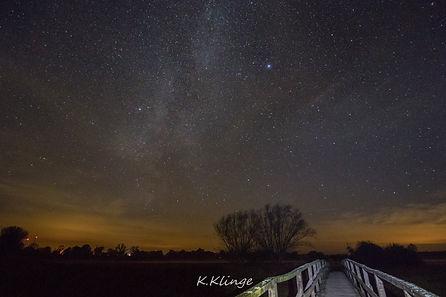 Die Milchstraße am Aland