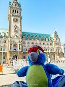Blu & das Hamburger Rathaus
