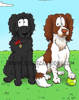 Pet Caricature Rufus and Murphy WM.jpg