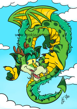 Clover the Dragon