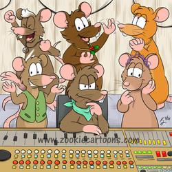 CFuzz and the Gang in the Studio