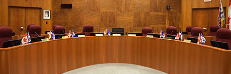 New West City Council Chamber