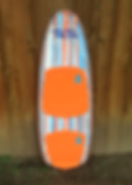 The Captain: TukTuk Boards wakesurfer