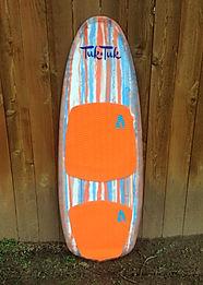 The Captain: TukTuk Boards wakesurfer
