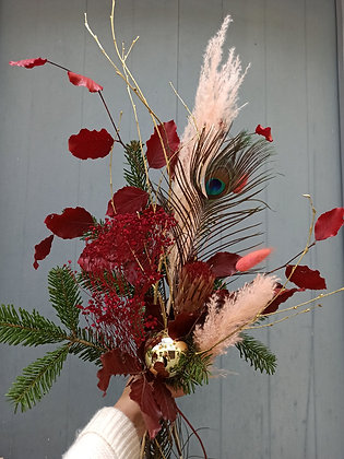 Bouquet fleurs séchées Christmas