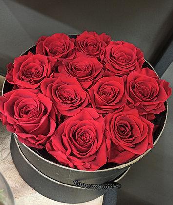 Boite de roses éternelles