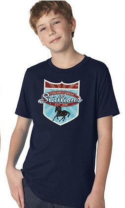 Navy Stallion Spirit Shirt