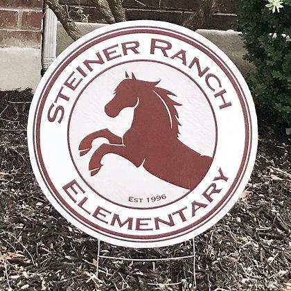 Stallion Yard Sign