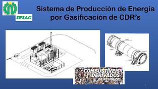 Sistema de Gasificación CDR's