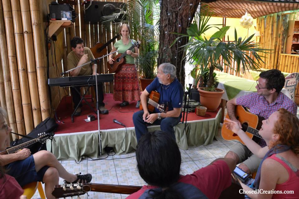 Jam with Sergio Saravia Falla