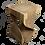 Thumbnail: Sitzstuhl / Beistelltisch Twister