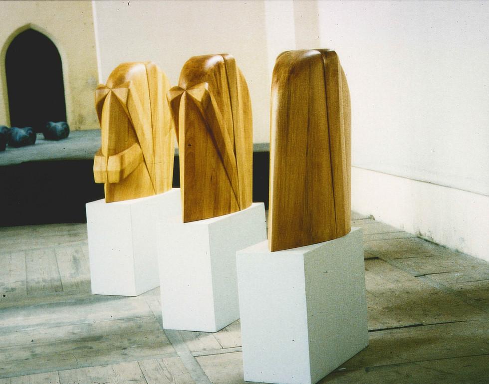 Bildhauerarbeit aus Holz
