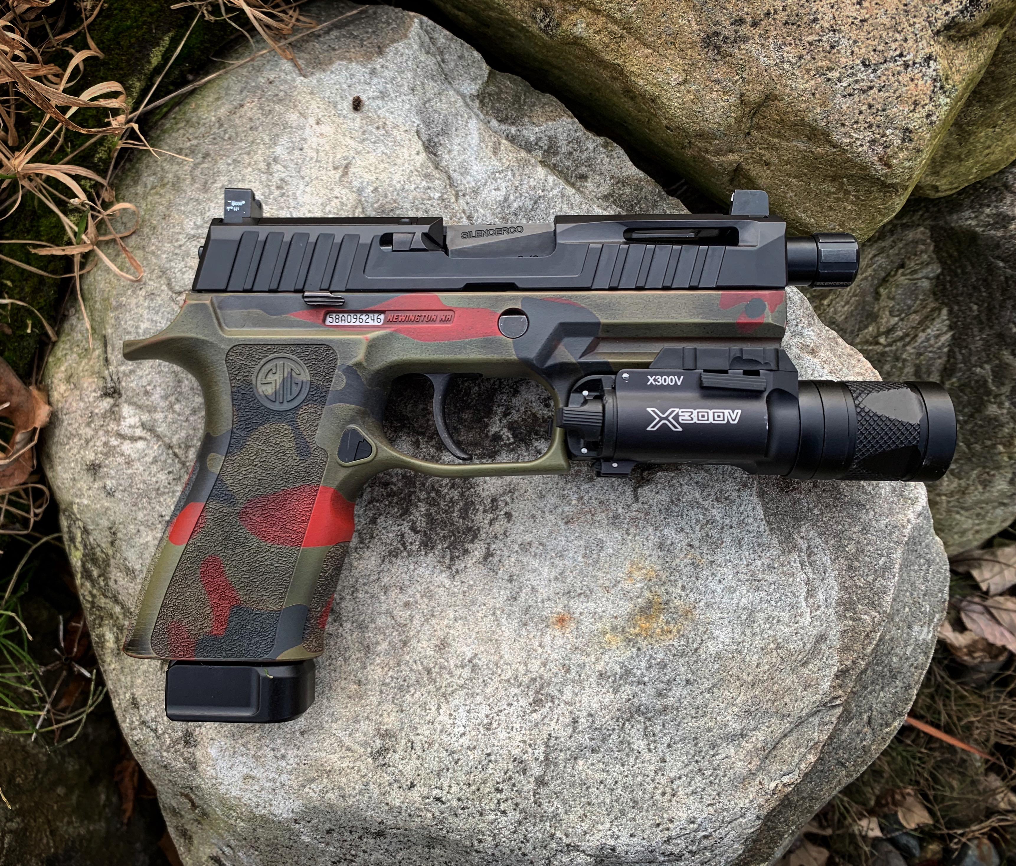 Sig P320 | 313 Tactical, LLC- Premier CeraKote Applicator