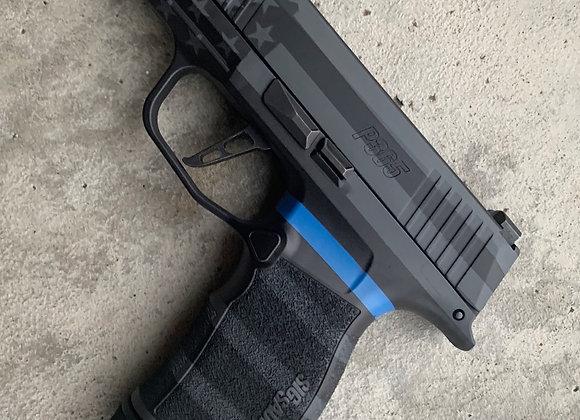 Sig Sauer P365 XL Thin Blue Line Flag Grip Module
