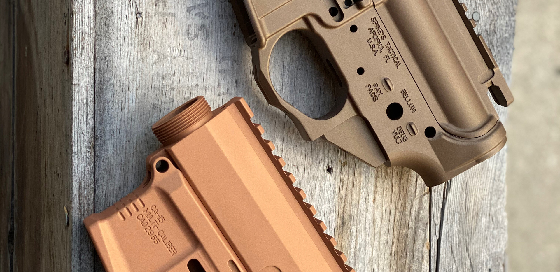 Bronze & Copper Upper/Lowers