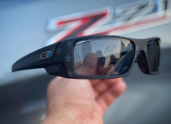 Custom TBL Oakley Gas Can Sunglasses