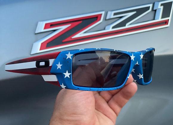 Custom 'Merica Oakley Gas Can Sunglasses