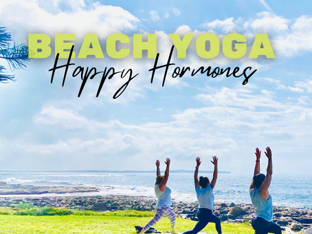 Beach Yoga & Happy Hormones