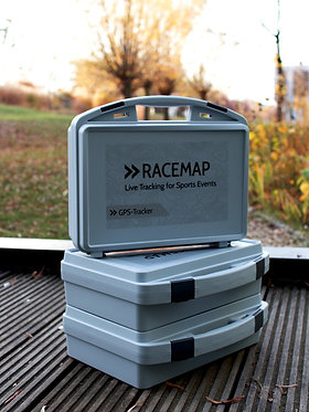 stack racemap case for 20 GPS trackers