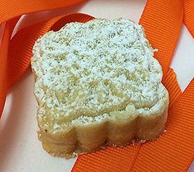 Pistachio filled semolina cookies