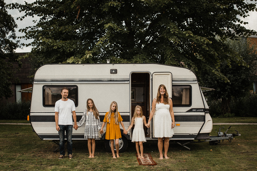 Caravan shoot