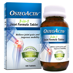 OSTEOACTIV 3-in-1 Joint Formula Tablet - 100's