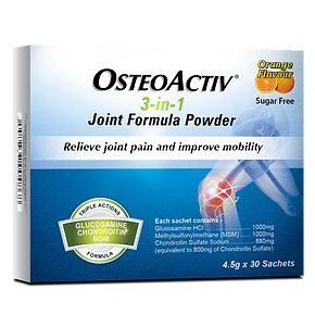 OSTEOACTIV 3-IN-1 JOINT FORMULA POWDER