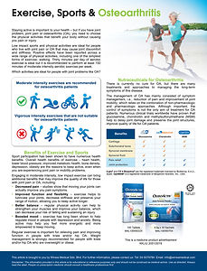 Exercise Sports and Osteoarthritis (Cari