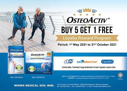 OSTEOACTIV 3-in-1 Joint Formula - Loyalt