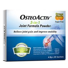 OSTEOACTIV 3-in-1 Joint Formula Powder - 4.5g x 30's