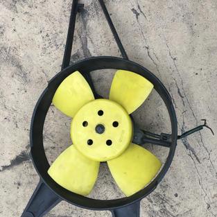 Radiator air fan