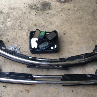 US bumpers  and mirrors (used)