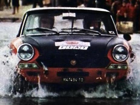 1973 Rally du Maroc Rauno Aaltonen - Joh