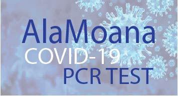 Ala Moana Covid-19 PCR検査