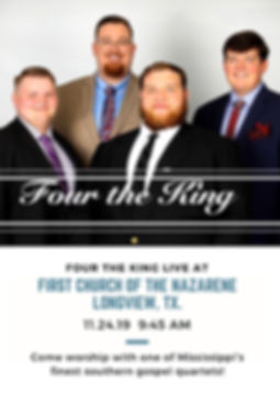 Four the King - coming to  Longview.jpg
